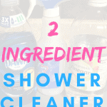 2 Ingredient Shower Cleaner #showercleaner #dawnandvinegar #cleanshowergrime