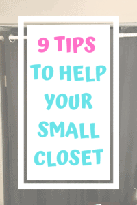 9 Tips To Help Your Small Closet title