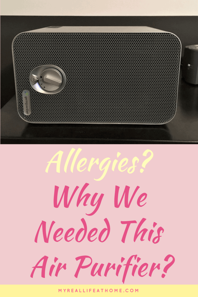Allergies? Why We Needed This Air Purifier #cleanair #bestairpurifier #germguardian