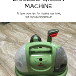 Bissell Little Green Machine on tile floor