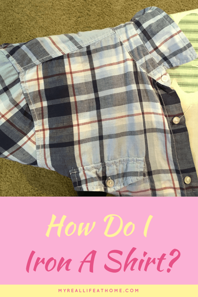 How do I iron a shirt? #helpmeiron #ironingtip #ironingashirt