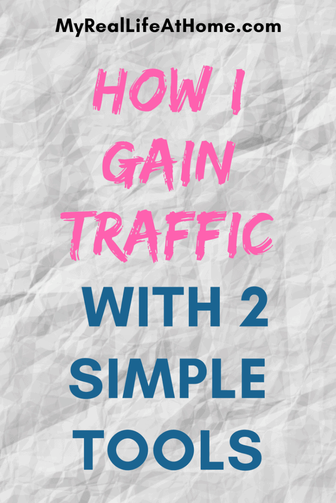 How I Gain Traffic With 2 Simple Tools #increasepageview #tailwindapp #promoteonpinterest