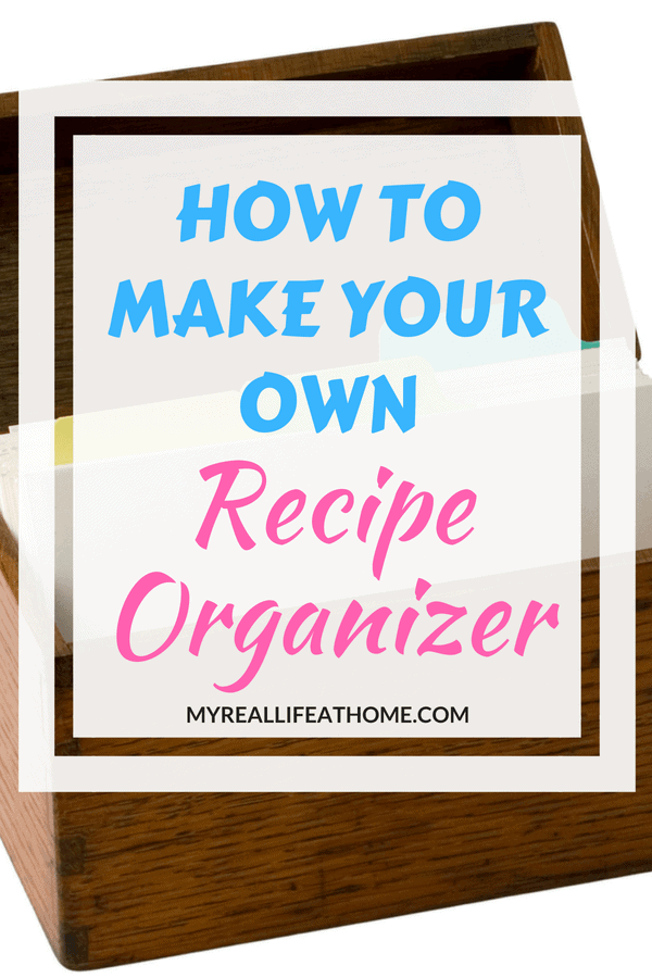 Do you have recipes all over? Struggle to find the recipe you are thinking of? That was me. Check out the best recipe organizer I can across. Now I can quickly find any recipe I want. #recipeorganizer #organizing #organize #recipes #howto