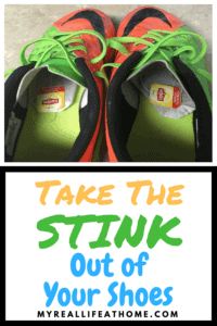 Soccer shoes with Lipton tea bags inside