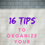 16 Tips To Organize Your Kitchen #organizemykitchen #kitchenmess #organizedkitchen