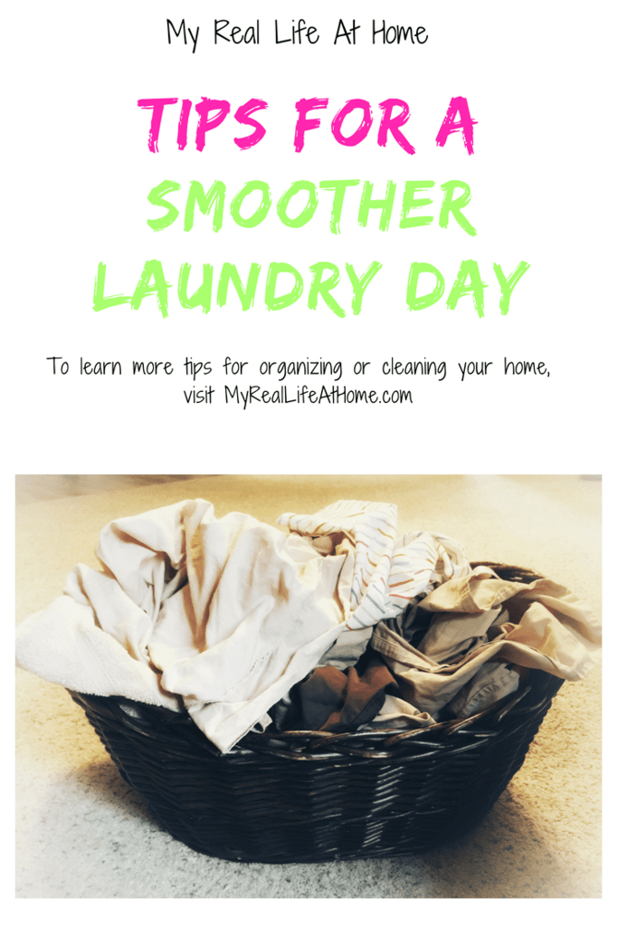 Tips for a smoother laundry day #helpmylaundry #laundrytips #makelaundryeasier