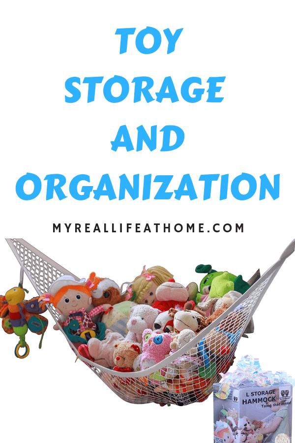 Toy Organization and Storage Options #amazon #toystorage #toyorganization #home #kids #toys #storage #organization #baskets #stuffedanimal