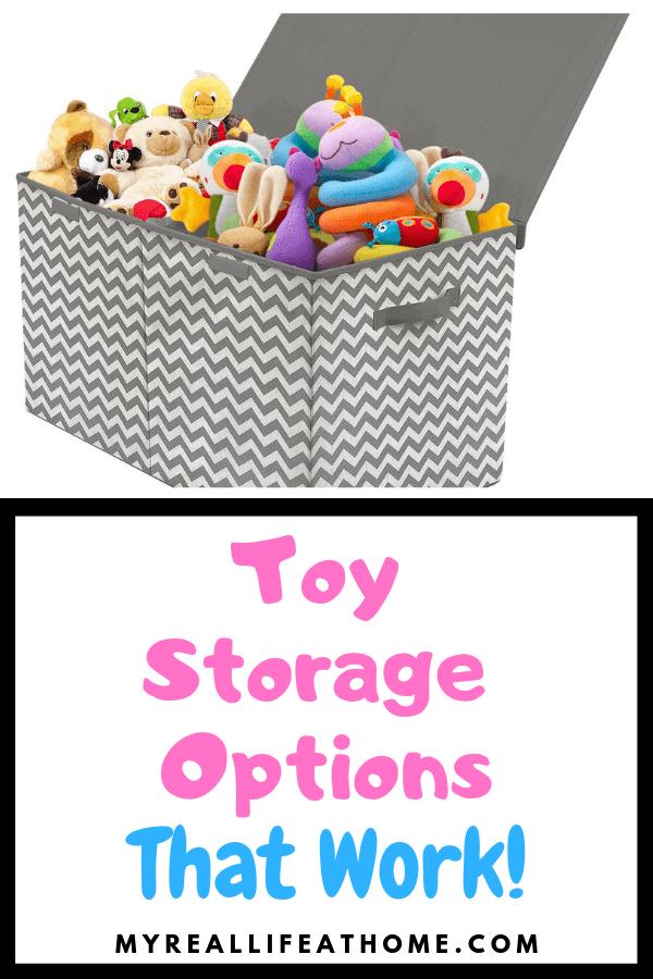 Toy Storage Options That Work #toystorage #toyorganization #home #kids #amazon #toys #storage #organization #baskets #stuffedanimal