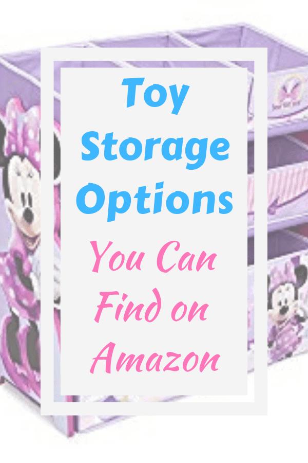 Toy Storage Options You Can Find On Amazon #amazon #toystorage #toyorganization #home #kids #toys #storage #organization #baskets #stuffedanimal