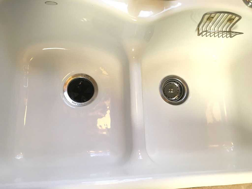 Clean kitchen sink #cleankitchen #cleansink