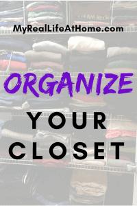 Title - Organize Your Closet